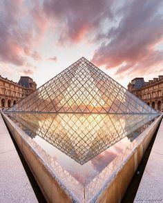 https://flic.kr/p/KFF2fW   A new perspective for the Pyramid    Bonsoir! Prise hier soir sous un joli coucher de soleil! Je n'avais encore jamais pensé à faire cette photo! Comme quoi, on peut toujours revisiter la Pyramide du Louvre en photo!  My Website - My Flickr - My Facebook -  My Google+ - My 500px - My Pinterest