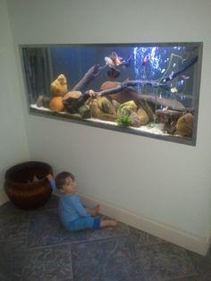 Built-in fishtank