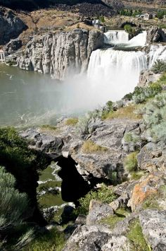 Shoshone Falls Park on the Snake River - managed by the City of Twin Falls, Idaho