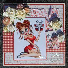 Copic Marker Benelux gemaakt door Wenda