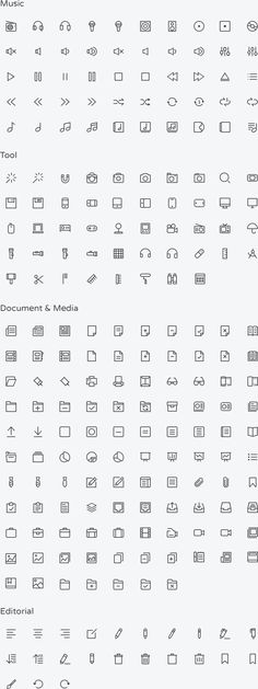 Budicon by Buditanrim   850 Scalable Vector Line Icons