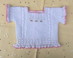 Blog Abuela Encarna Knitting For Kids, Baby Knitting, Crochet Baby, Boys Sweaters, Knit Cardigan, Knitting Patterns, Blog, Lace, Fabric