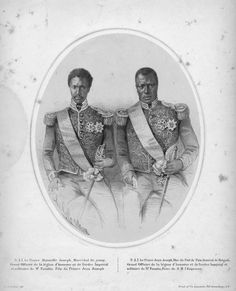 Prince Mainville Joseph + Prince Jean Joseph of Haiti