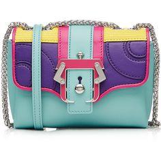 PAULA CADEMARTORI Caroline Bag ❤ liked on Polyvore featuring bags, handbags, shoulder bags, paula cademartori, green leather handbag, genuine leather shoulder bag, leather purse and green purse