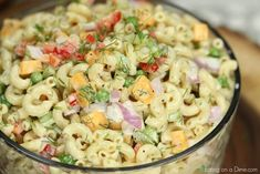 This Easy Macaroni Salad recipe is the perfect side dish to bring to Summer BBQ's, parties and more! Easy macaroni salad is loaded with veggies, cheese and more. You will love the creamy dressing in Macaroni salad recipe. Try this Pasta salad with mayo. Macaroni Salad Ingredients, Mayo Pasta Salad Recipes, Greek Salad Recipes, Easy Pasta Salad, Recipe Pasta, Southern Macaroni Salad, Creamy Macaroni Salad, Best Macaroni Salad, Macaroni Salads
