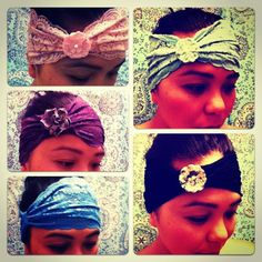 Cute handmade Headbands!