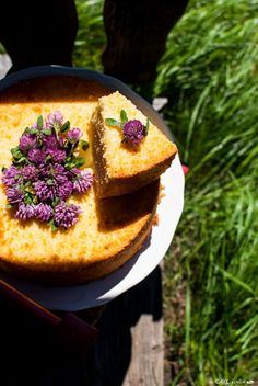Fluffosa al Limone _ Lemon fluffy chiffon cake