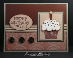 27 Ideas birthday cupcakes male masculine cards for 2019 Masculine Birthday Cards, Bday Cards, Birthday Cards For Men, Handmade Birthday Cards, Masculine Cards, Greeting Cards Handmade, Male Birthday, Birthday Images, Birthday Quotes