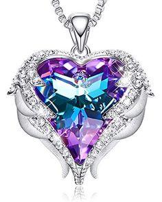 Ogquaton //Strass Creux Amour Coeur Ensemble De Bijoux Femmes Collier Boucles doreilles Bijoux De Mari/ée Or Rose Haute Qualit/é
