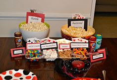 Having an Oscars Party?    Don't forget the DIY Popcorn Bar!
