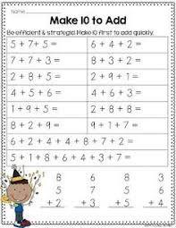 addition, make 10 to add, measuring, money, base Math For Kids, Fun Math, Maths, Math Resources, Math Activities, Math Worksheets, Second Grade Math, Grade 2, Math Groups