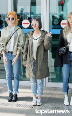 [HD포토] 이엑스아이디(EXID) 혜린 '얼굴의 반이 선글라스'  #이엑스아이디 #EXID #혜린 #인천국제공항