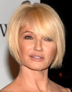 cheek length bob with bangs - Google Search