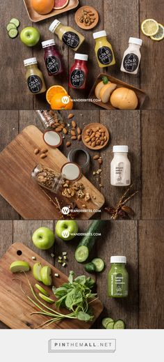 Project: Food Styling & Photography for Cold Pressed Juice - WANDERBITES! Food Photographer & Food Blogger - created via http://pinthemall.net