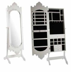 Jewelry Storage Floor Mirror from PbTeen love it But not the price