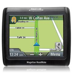 """(CLICK IMAGE TWICE FOR DETAILS AND PRICING) Magellan RoadMate 1220-R GPS Navigation System. """"Magellan Roadmate 1220  Product  RM1220SGXUH The Magellan RoadMate 1220 boasts the acclaimed OneTouch menu, a 3.5-inch color touch screen, and a pocket-size design. Preloaded maps and points of interest for the contiguous 4.. . See More Automotive at http://www.ourgreatshop.com/Automotive-C478.aspx"""