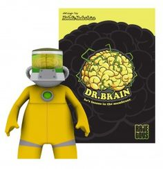 RAJE Toys  :  Dr. Brain: Dr. Brain is coming! This is an awesome new toy from the U.K.