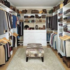 Bedroom Designs Amusing Walk In Closet Designs For A Master ...