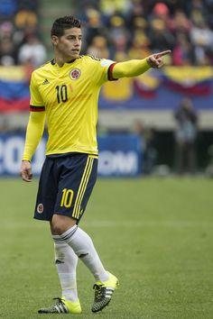 James Rodriguez during match vs Peru. Copa America Chile 21.6.15