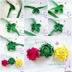 How to Make Beautiful Flowers with Zipper » Cool Creativity