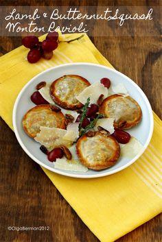 Gluten Free Braised Lamb Ravioli With Shitake Parsley Broth Recipes ...