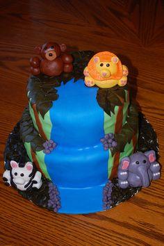 jungle cake :)