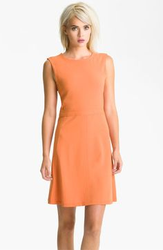 Add a turquoise necklace and you are good to go. BCBGMAXAZRIA Crepe A-Line Dress