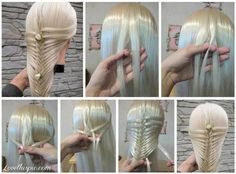 DIY Unique Hair Style diy easy diy diy beauty diy hair diy fashion beauty diy diy style diy hair style