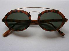 retro sunglasses lenses glasses retro hippie goa style 50s fifties vintage  brown f5c224bdf4ce