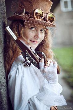 Roman Kuzyk, Got to love this steampunk portrait.