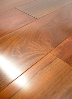 Brazilian Walnut Engineered Hardwood Flooring This is amazing!