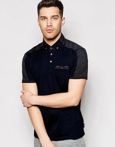 Enlarge Ted Baker Polo Shirt With Panels Cut Up Shirts, Cheer Shirts, Polo Shirts, Boyfriend Girlfriend Shirts, One Direction Shirts, Paint Shirts, Mens Designer Shirts, Matching Couple Shirts, Business Casual Dresses
