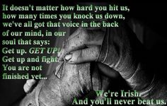 Proud to be Irish~~strong stock as my mom would say~~