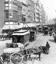 1892 New York City | Broadway and Union Square