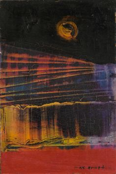 """themodernartists:""""Max Ernst (German, Untitled, Oil on panel. Max Ernst Paintings, Surrealism Painting, Art Moderne, Pics Art, Psychedelic Art, Aesthetic Art, Oeuvre D'art, Collage Art, Cover Art"""