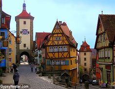 Beautiful Rothenburg - Germany's best preserved medieval town! See more: http://www.gypsynester.com/paris-to-prague.htm