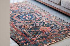 The Arianna  Hamadan rug by AnnieAnnieVintage on Etsy