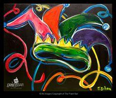 Jester Hat www.thepaintbar.com