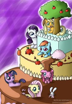my little pony friendship is magic cakes | My Little Pony Friendship is Magic Pony cake :D