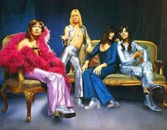 The Sweetest Thing: Musings on Glam Rock « Get Some Vintage-a-Peel 70s Glam Rock, Glam Rock Bands, 70s Fashion, Colorful Fashion, 1970s Disco Fashion, Rock Fashion, Fashion History, Sweet Band, Brian Connolly
