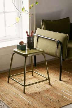 a stackable seating solution + sometimes side table