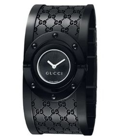 Gucci black...except I like the white gold one better...
