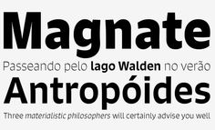 Signo typeface by Ru
