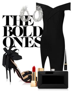 """""""#103"""" by sashaalekseev on Polyvore featuring Christian Louboutin, Yeprem, Yves Saint Laurent and Judith Leiber"""