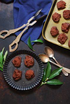 Gluten-free chocolate meringue cookies - Galletas merengue de chocolate sin gluten - Dulces bocados