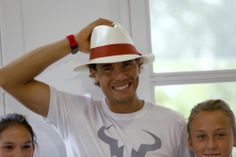 The adorable birthday boy sporting his cute hat (Photo by Darko Vojinovic)