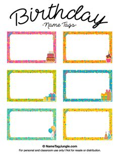 Free Printable Train Name Tags The Template Can Also Be Used For - Sample name tag templates