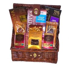 Godiva Chocolate Lovers Assorted Gourmet Gift Basket - http://bestchocolateshop.com/godiva-chocolate-lovers-assorted-gourmet-gift-basket/