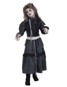 Kids-Costume Zombie Girl Md Halloween Costum