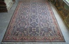 9'x14' Hereke Carpet Rug  Antique Large Mansion Carpet  by RugToGo